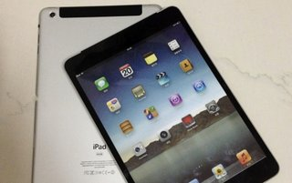 More iPad mini mock-ups again showing thinner bezels