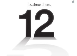 It's on, iPhone 5 invite confirms 12 September event