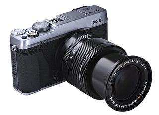 Fujifilm X-E1 compact system camera revealed