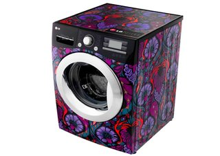 LG 6 Motion washing machine now available with limited edition Giles Deacon design
