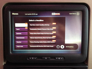virgin atlantic s new in flight entertainment system pictures and hands on image 15