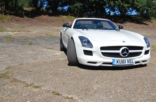 mercedes benz sls amg roadster pictures and hands on image 2