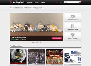 WEBSITE OF THE DAY: Indiegogo