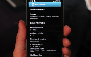 Samsung confirms Samsung Galaxy S3 Jelly Bean update, won't commit to more than 'October'