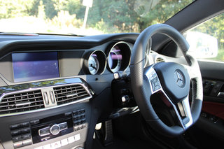 mercedes benz c220 cdi blueefficiency amg sport coupe pictures and hands on image 15
