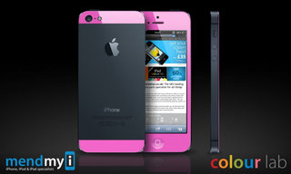 iPhone 5: Colourful makeover service lets you go pink, or red, or yellow, or...