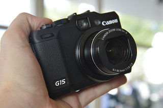 Canon PowerShot G15 pictures and hands-on