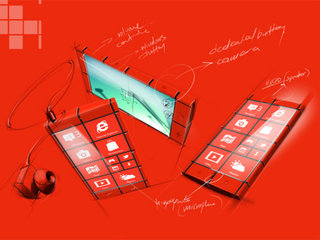 Move over HTC, the Windows Phone concept that really plays on the tile design