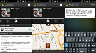 app of the day sonar friends nearby review ios and android  image 2