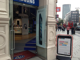 Forget the Apple Store, the iPhone 5 is available just yards away with no queues
