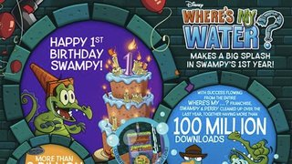 Bonus Where's My Water? content to celebrate game's first birthday