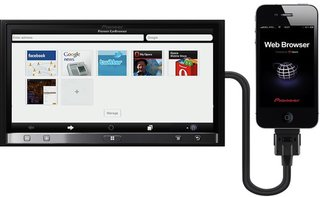 Download the Opera Pioneer CarBrowser App for in-car web surfing