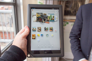 barnes noble nook hd 9 inch tablet pictures and hands on image 1