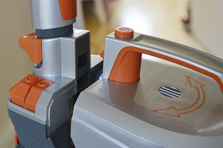 vax air3 multi cyclonic upright vacuum cleaner pictures and hands on image 6