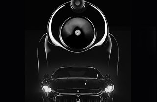 Maserati picks Bowers & Wilkins for in car audio from 2013