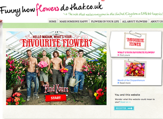 WEBSITE OF THE DAY: Funny How Flowers Do That