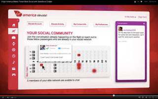 Virgin America to introduce new intelligent social personalised in-flight entertainment system