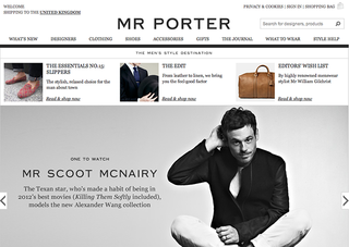 WEBSITE OF THE DAY: Mr Porter