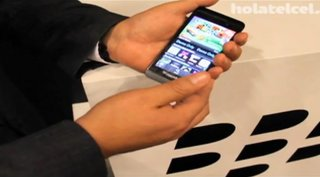 BlackBerry 10 L-Series given video demonstration... by RIM employee (video)