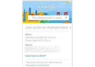 Google Nexus launch: Android event scheduled 29 October