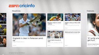 Windows 8 app rush begins with ESPNcricinfo