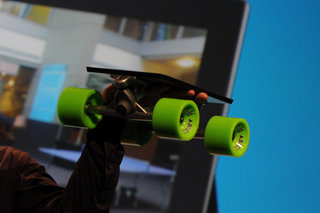 Microsoft Surface skateboard pictures and eyes-on