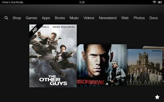 lovefilm for kindle fire hd pictures and hands on image 4