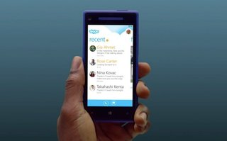 Skype for Windows Phone 8 detailed