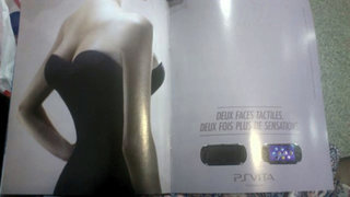 Sony France compares PS Vita to a woman with four breasts