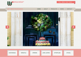 WEBSITE OF THE DAY: Wrag Wrap