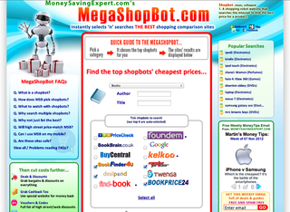 WEBSITE OF THE DAY: MegaShopBot