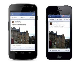 Facebook Share button makes sharing on the go easier with new app update