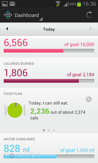 app of the day fitbit activity tracker review android  image 3
