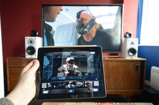The Dark Knight Rises iPad companion app pictures and hands-on