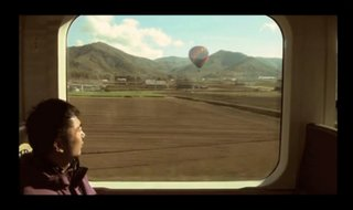 The Augmented Reality train window that lets you change the scenery