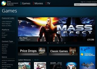 PlayStation Store now available in your browser