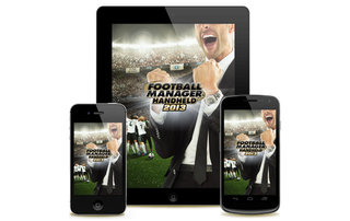Football Manager Handheld 2013 now available for Android, iPhone, iPad and PSP... yeah, PSP