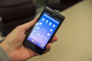 yota devices yotaphone dual screen smartphone meets ebook reader pictures and hands on image 1