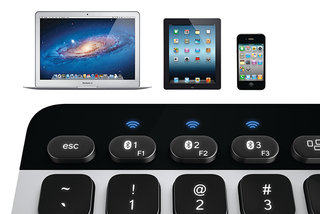 Logitech Bluetooth Easy-Switch Keyboard can pair with up to three OS X and iOS devices