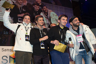 Romania crowned Angry Birds champs in Samsung finals, having beaten TOWIE girls into submission