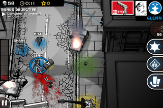 app of the day the walking dead assault review iphone  image 6