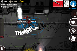 app of the day the walking dead assault review iphone  image 8