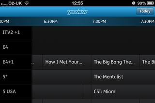 hands on youview remote record ios app review dec 2012  image 12