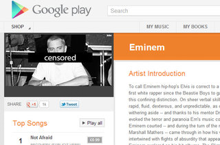 Google Play Music censors your uploaded songs