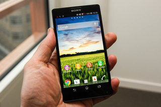 sony xperia zl official ditches xperia z waterproofing and design we go hands on image 1