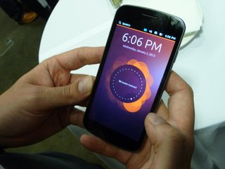 ubuntu phone pictures and hands on image 2