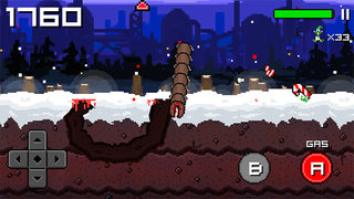 APP OF THE DAY: Super Mega Worm vs Santa 2 review (iOS and Android)