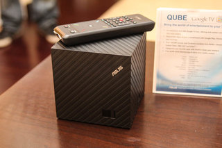 Asus Qube: Google TV gets a new face at CES, we go hands-on