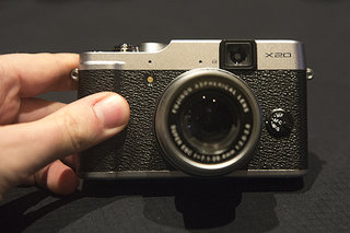 Fujifilm X20 high-end compact camera pictures and hands-on