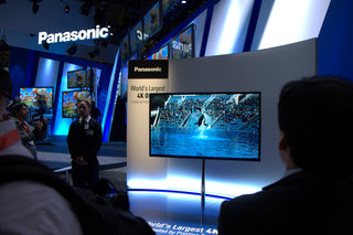panasonic 56 inch 4k oled tv pictures and eyes on image 1
